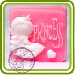 Ты моя принцесса - 2D силиконовая форма для мыла, свечей, шоколада, гипса и пр.
