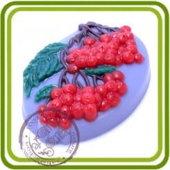 Гроздья рябины - пластиковая форма для мыла