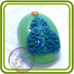 Ель ажурная  - пластиковая форма для мыла