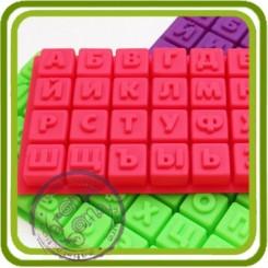 1 А. ПРОСТАЯ - D Объемная силиконовая форма для мыла, свечей, гипса, шоколада и пр.