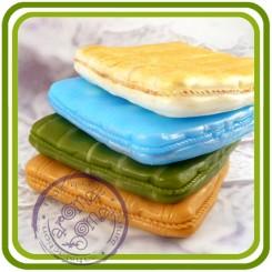 Коврик/подушка для животных, малышей и пр - 2D Объемная силиконовая форма для мыла, свечей, гипса, шоколада и пр.