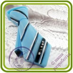 Галстук мужской Milano - Авторская 2D силиконовая форма для мыла, свечей, шоколада, гипса и пр.