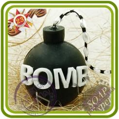 BOMB! Бомба - 3D Авторская силиконовая форма для мыла, свечей, шоколада и пр.