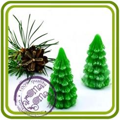 Елочка 1 (малая) - 3D силиконовая форма для мыла, свечей, шоколада, гипса и пр.