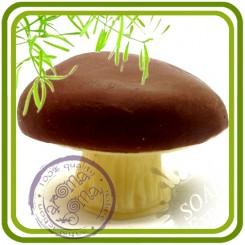 Гриб белый - 3D силиконовая форма для мыла, свечей, шоколада, гипса и пр.
