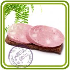 Бутерброд с колбасой - 3D силиконовая форма для мыла, свечей, шоколада, гипса и пр.