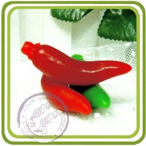 Перчик Чили мини - 3D Эксклюзивная силиконовая форма для мыла, свечей, шоколада, гипса и пр.