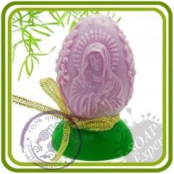 Яйцо Богородица - 3D силиконовая форма для мыла, свечей, шоколада, гипса и пр.