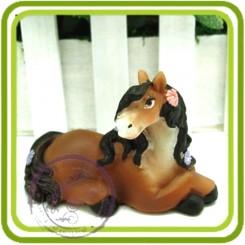 Айсидора лошадка - 3D силиконовая форма для мыла, свечей, шоколада и пр.
