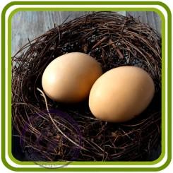 Яйцо простое - 3D силиконовая форма для мыла, свечей, шоколада, гипса и пр.
