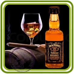 Бутылка Виски Джек - 3D Объемная силиконовая форма для мыла, свечей, гипса, шоколада и пр.