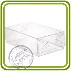 Коробка (прозрачная) прямоуг.  с прозрачной крышкой