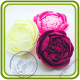 Пион 12 букетный. Авторская 3D силиконовая форма для мыла, свечей, шоколада, гипса и пр.