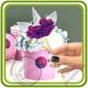 Единорог. ТОПЕР. Авторская 3D силиконовая форма для мыла, свечей, шоколада, гипса и пр.