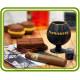 Сигара. Авторская 3D силиконовая форма для мыла, свечей, шоколада, гипса и пр.