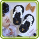 Босоножка с камелией в стиле Шанель (левая или правая). Авторская 2D силиконовая форма для мыла, свечей, шоколада, гипса и пр.