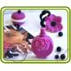 Духи, Флакон в стиле Валентино. Авторская 2D силиконовая форма для мыла, свечей, шоколада, гипса и пр.