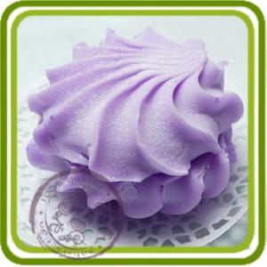 Зефир 1 - 2D Эксклюзивная силиконовая форма для мыла, свечей, шоколада, гипса и пр.