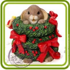 Мышка в рождественском ве