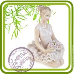 Балерина (3д) - Объемная силиконовая форма для мыла
