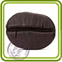 Зерно кофе - Объемная силиконовая форма для мыла