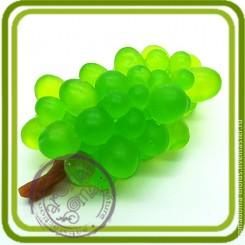 Виноград №2 (с веточкой) - Объемная силиконовая форма для мыла