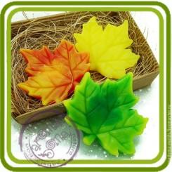 Лист винограда (клена) - Объемная силиконовая форма для мыла