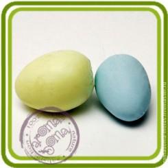 Яички перепелиные (2шт) - МИНИ Объемная силиконовая форма для мыла №240