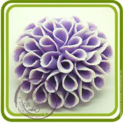 Георгин №2 - Объемная силиконовая форма для мыла