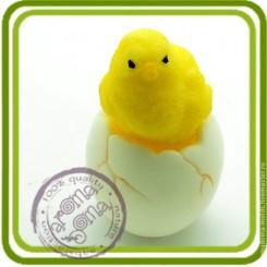 Яйцо для цыпленка - Объемная силиконовая форма для мыла