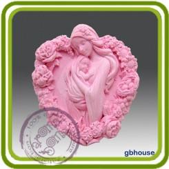 Мамина любовь 2 - Объемная силиконовая форма для мыла