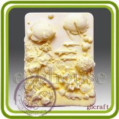 Тропические рыбки - Объемная силиконовая форма для мыла