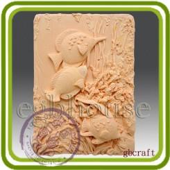 Под водой - Объемная силиконовая форма для мыла