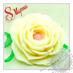Весенний цветок -Объемная силиконовая форма для мыла