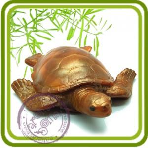 Большая черепаха - 3D силиконовая форма для мыла, свечей, шоколада, гипса и пр.