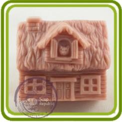 Домик (деревенский) - Объемная силиконовая форма для мыла