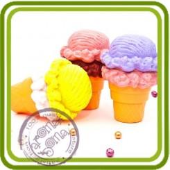 Мороженое 3д - Объемная силиконовая форма для мыла