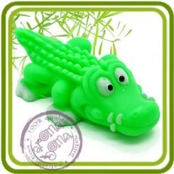 Крокодил - Объемная силиконовая форма для мыла №118