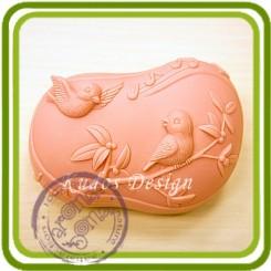 Любовные трели 2д - Объемная силиконовая форма для мыла
