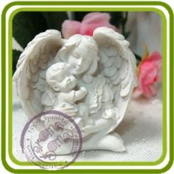 Мамина любовь 3d - Объемная силиконовая форма для мыла