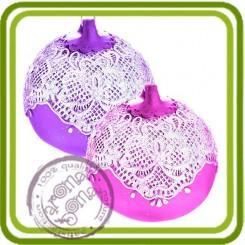 заготовка (3 размера)  3d - Объемная силиконовая форма для мыла