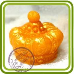 Корона императорская (serSF) 3d- Объемная силиконовая форма для мыла №208