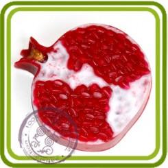 Гранат - пластиковая форма для мыла