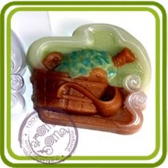 Баня - пластиковая форма для мыла