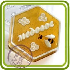 Медовое - пластиковая форма для мыла