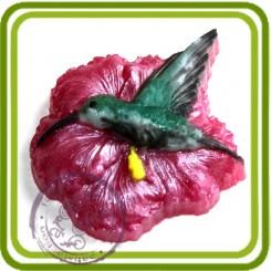 Колибри - пластиковая форма для мыла