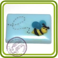 Пчелка летит  - пластиковая форма для мыла
