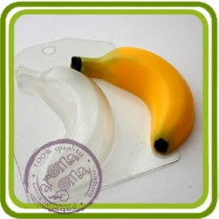 Банан - пластиковая форма для мыла