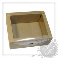 Коробка-ящик (м) с прозрачной крышкой