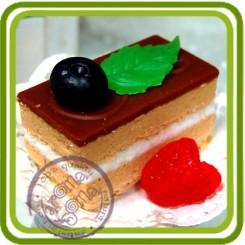 Бисквит (птичье молоко) - Объемная силиконовая форма для мыла